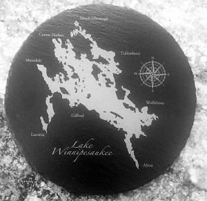 Slate Cheeseboard - Lake Winnipesaukee